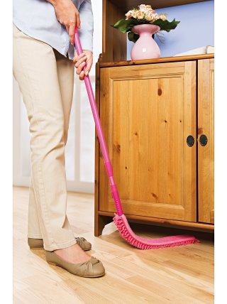 Mopa flexible atrapa polvo limpia rincones