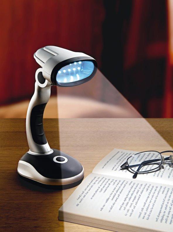 Lámpara sobremesa LEDS cabezal orientable