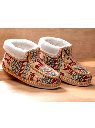 Zapatillas para casa con borreguito VENCA