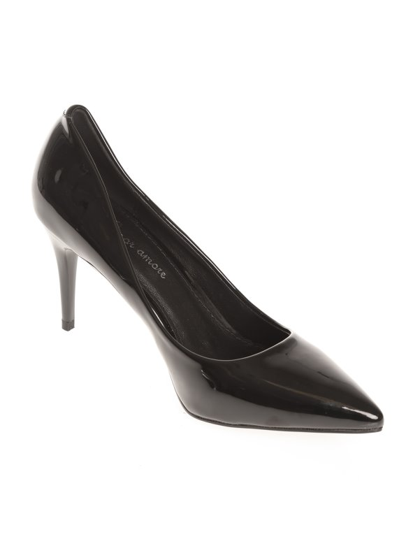 Stiletto Zapatos Mujer Tacón Símil Charol De Tl1JcFK
