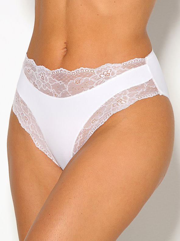 Women's knickers with elastic fitting in the front VENCA