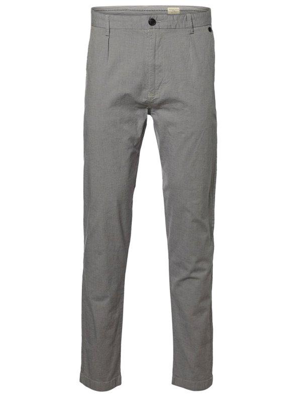 Pantalones largos con pinzas de hombre SELECTED