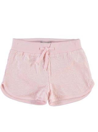 Short lentejuelas algodón orgánico niña NAME IT