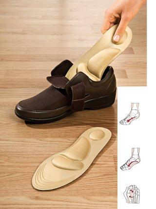 Plantillas acolchadas para pies unisex talla 40-46