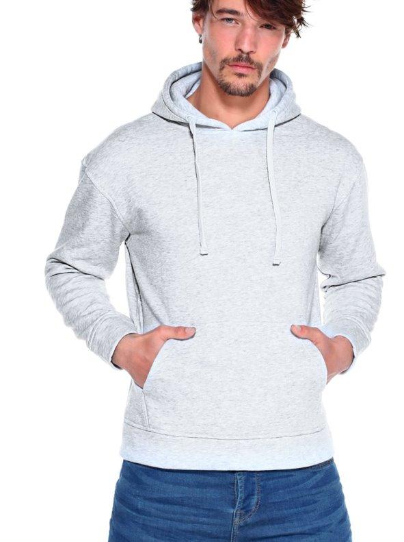 Man's sweatshirt with hood and Large kangaroo pocket VENCA