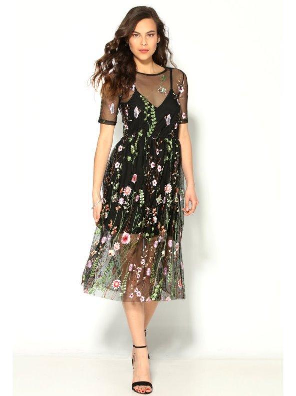 Semi Transparent Dresses