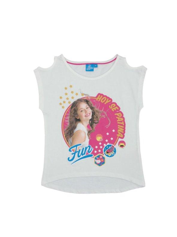 Camiseta de niña hombros descubiertos Soy Luna SOY LUNA