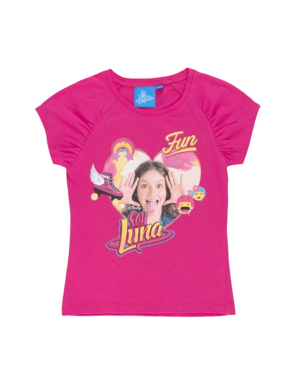 Camiseta de niña de Soy Luna de manga corta SOY LUNA