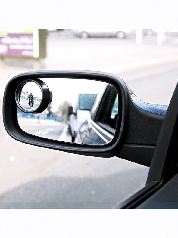 Espejo aumento retrovisor anti ángulos muertos