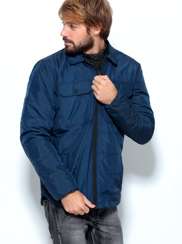 Parka Man type jacket quilted under rounding ONLY & SONS