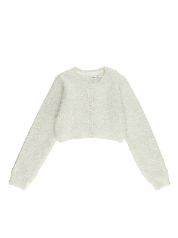 Chaqueta bolero tricot niña de suave pelo NAME IT