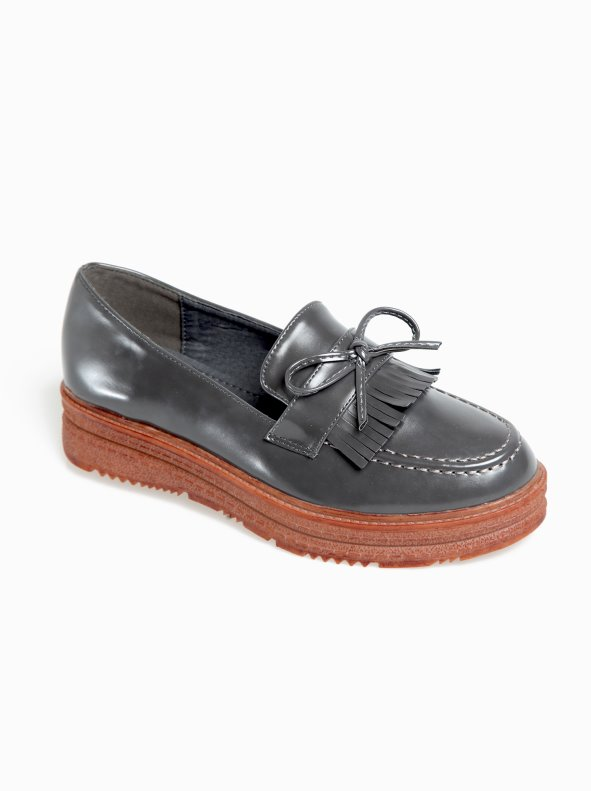 Zapatos mocasines con plataforma en símil piel VENCA