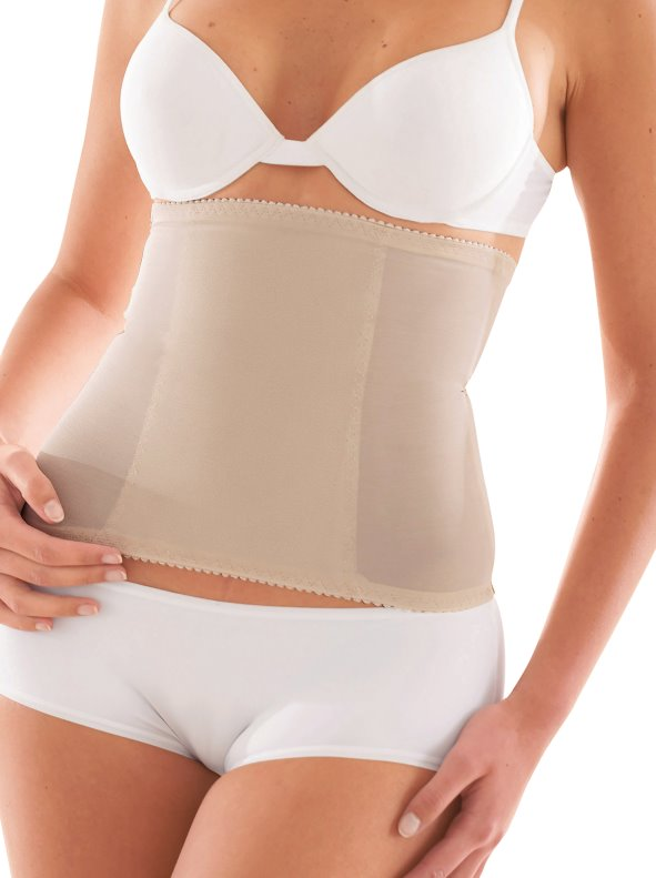 Women's flat belly effect reducing girdle with invisible effect