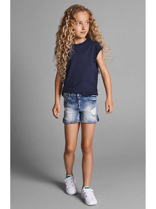 Short niña KIDS con bajo redondeados NAME IT