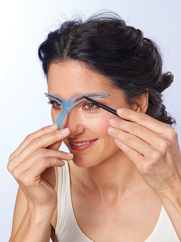 Plantilla cejas con resultados naturales y uniformes