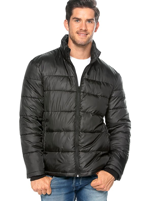 Chaquetón anorak acolchado franjas hombre ONLY & SONS