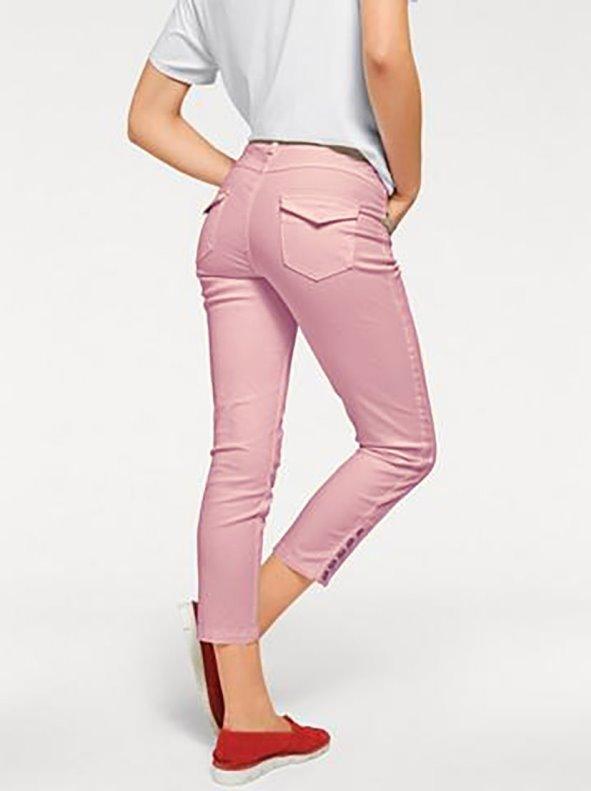Pantalon Mujer Tobillero Con Botones En La Parte Inferior B C Best Connections By Heine Venca 025789