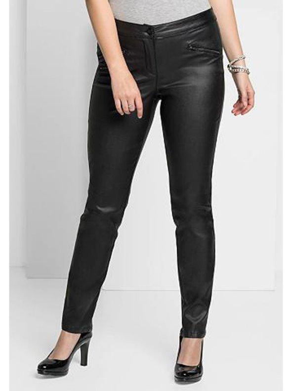 Pantalon Largo Mujer Brillante Tallas Grandes Sheego Venca 026378