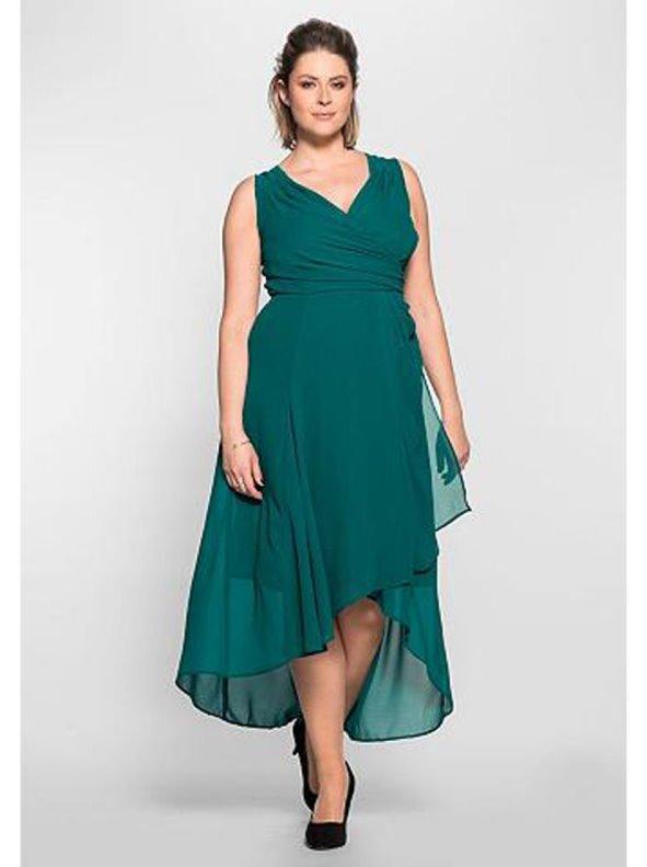 4f0f3b28af9 Vestido mujer fiesta sin mangas tallas grandes SHEEGO - Venca - 026893