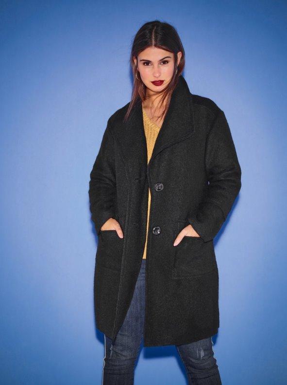 33d8c0795c7 Abrigo de lana tallas grandes CHIC SIZE: L-4XL - Venca - 033247