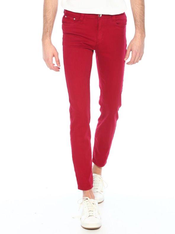 Pantalón 5 bolsillos sarga elástica para hombre