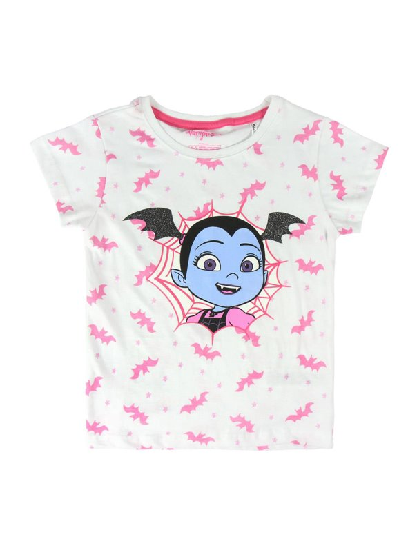 Camiseta manga corta estampada niña VAMPIRINA