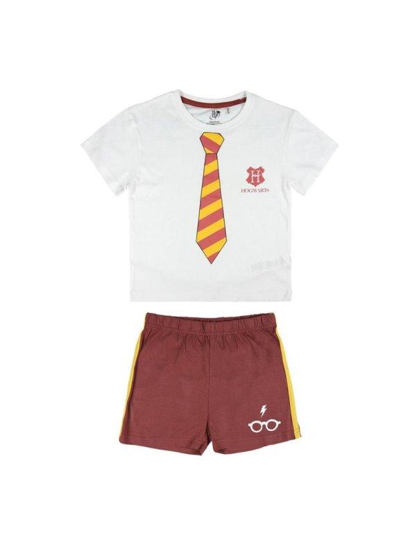 Pijama corto de algodón niño HARRY POTTER