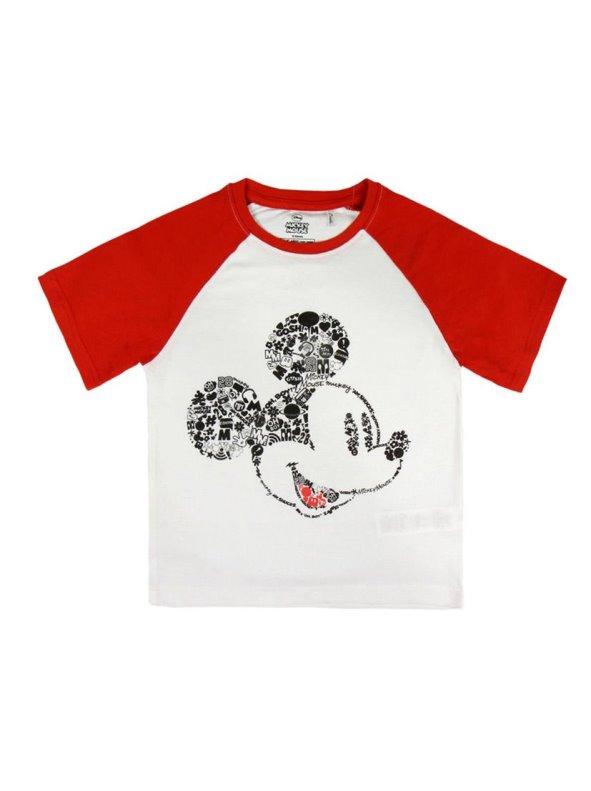 Camiseta manga corta niños estampada MICKEY