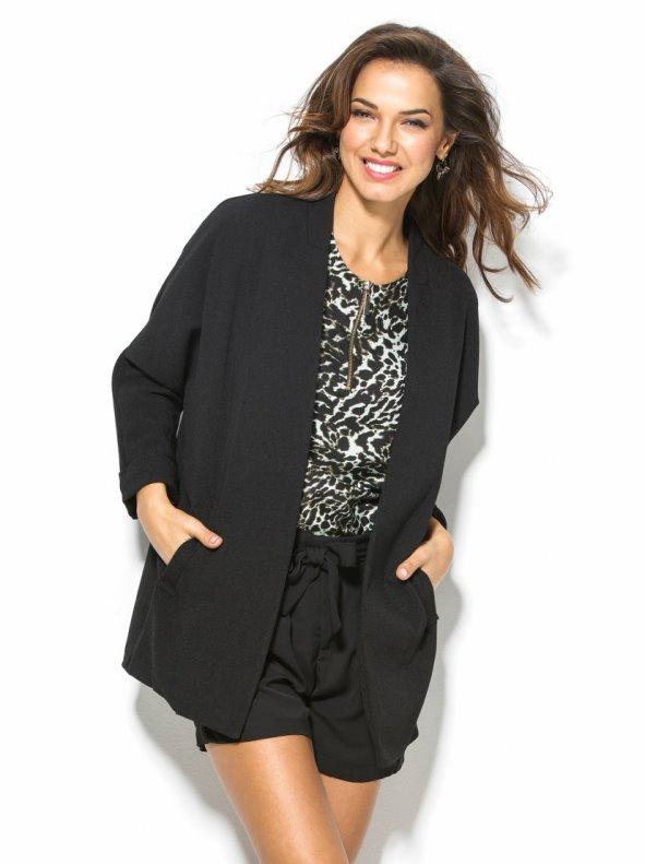 Women's dress jacket sleeve 3/4 lined