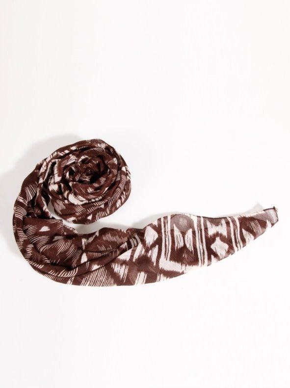 Fular pañuelo mujer con estampado de diseño étnico VENCA
