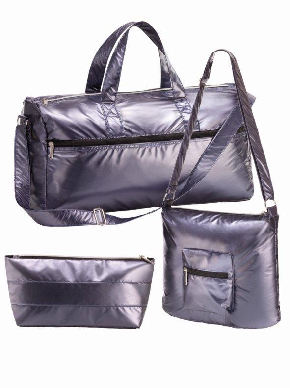 Set de viaje maxibolsa bolso bandolera y neceser WEEKEND