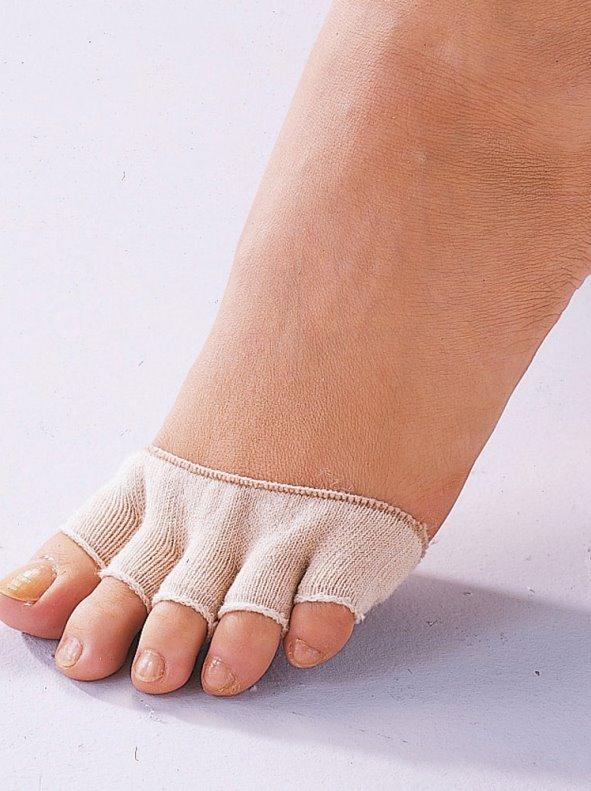 Lote pack de 2 mitones dedos de los pies anti rozaduras