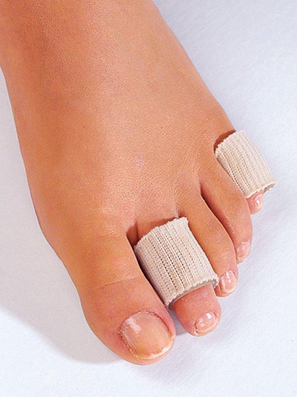 Vendaje tubular para dedos de pies y manos extensible