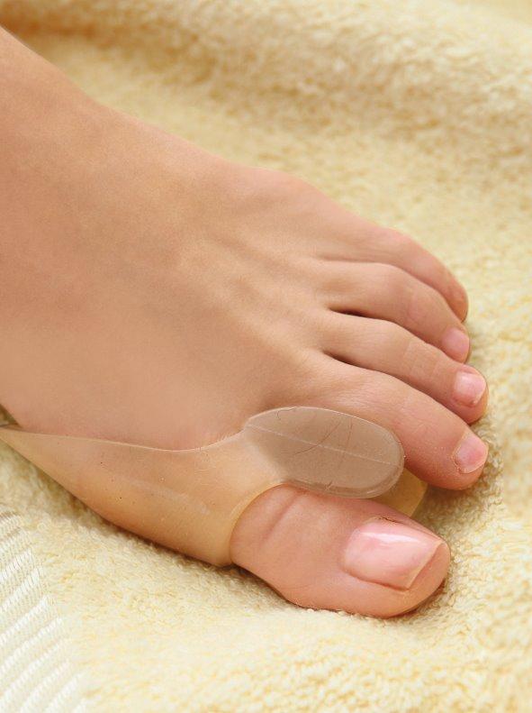 Separador especial para el dedo gordo del pie 2 en 1