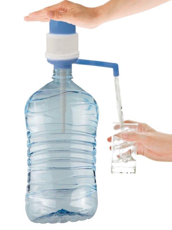 Dispensador agua adaptable a botellas de 3 y 5 l