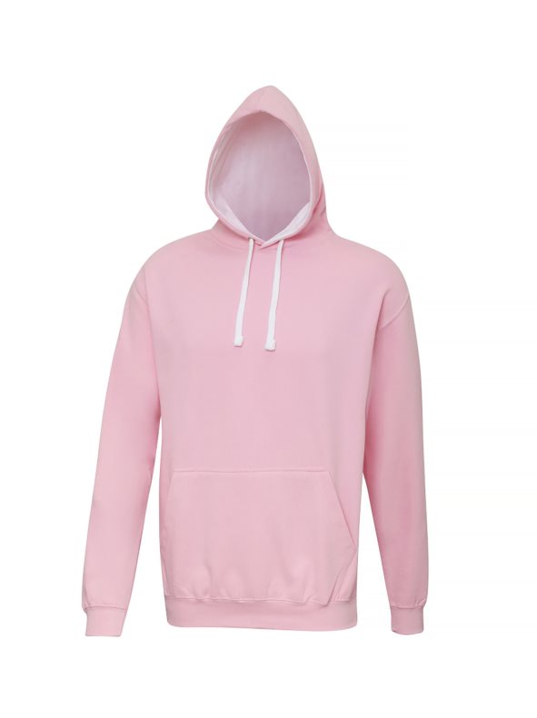 Sudadera con capucha Modelo Varsity Correr/Fitness/Gym/Deporte rosa XL