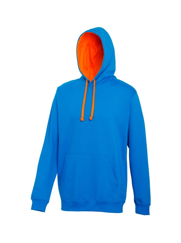 Sudadera con capucha Modelo Varsity Correr/Fitness/Gym/Deporte azul S